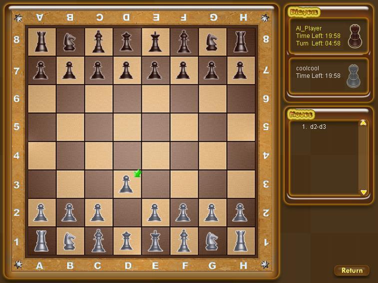 3D Online Chess