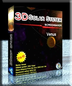 3D Solar System Screensaver