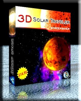 3D Solar Traveler Screensaver