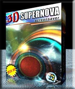 3D Supernova Screensaver