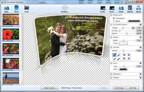 3D Thumbnail Generator