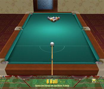 3D Billiards Online Games