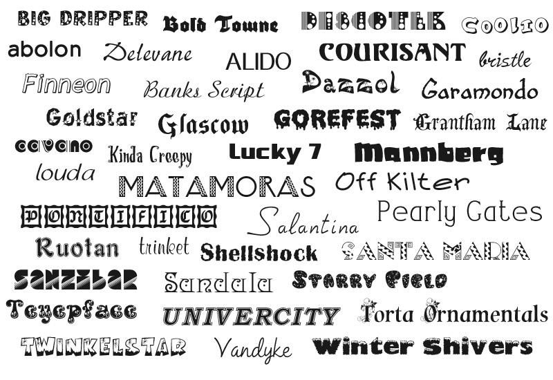 40 Free Fonts