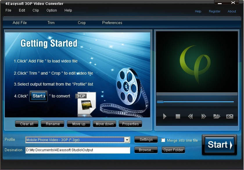 4Easysoft 3GP Video Converter