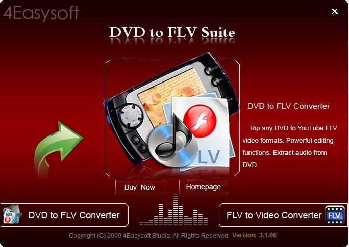 4Easysoft DVD to FLV Suite