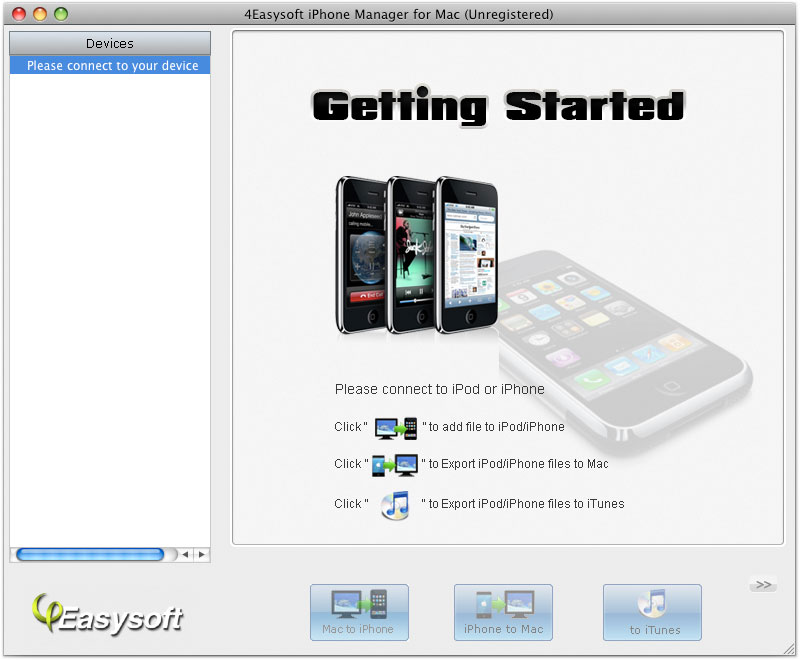 4Easysoft iPhone Manager for Mac