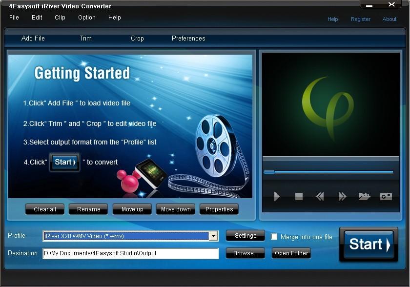 4Easysoft iRiver Video Converter