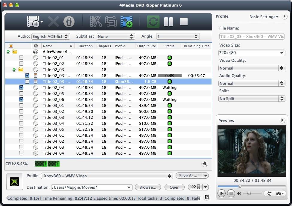 4Media DVD Ripper Platinum for Mac