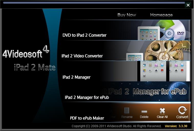 4Videosoft iPad 2 Mate