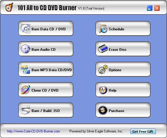 101 All to CD DVD Burner