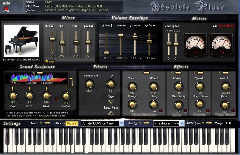 Absolute Bosendorfer Piano VSTi