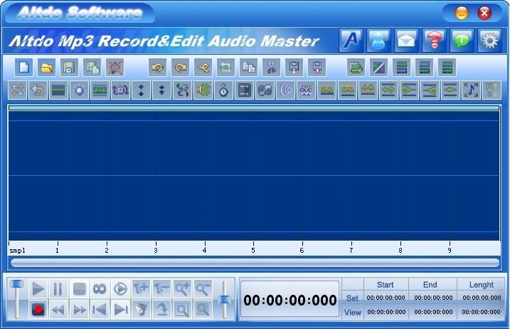 Altdo Mp3 Record&Edit Audio Master