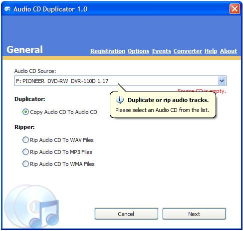 Audio CD Duplicator