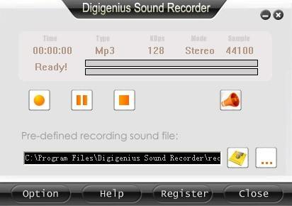 DigiGenius Sound Recorder