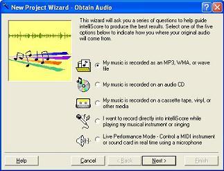 Intelliscore Polyphonic WAV to MIDI Converter