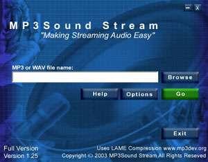 MP3 Sound Stream