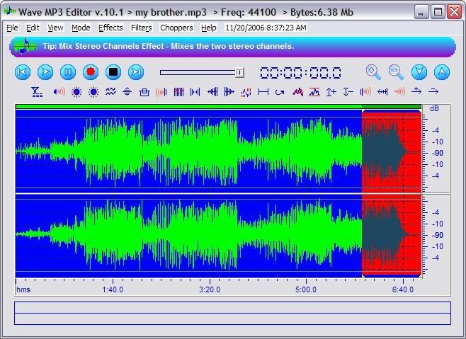 MP3 Wave Editor