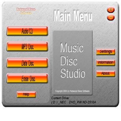 Music Disc Studio
