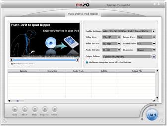 Plato DVD iPod Ripper