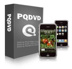 PQ's DVD to iPhone Movie Video Converter