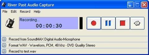 River Past Audio Capture