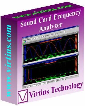 Virtins Sound Card Spectrum Analyzer