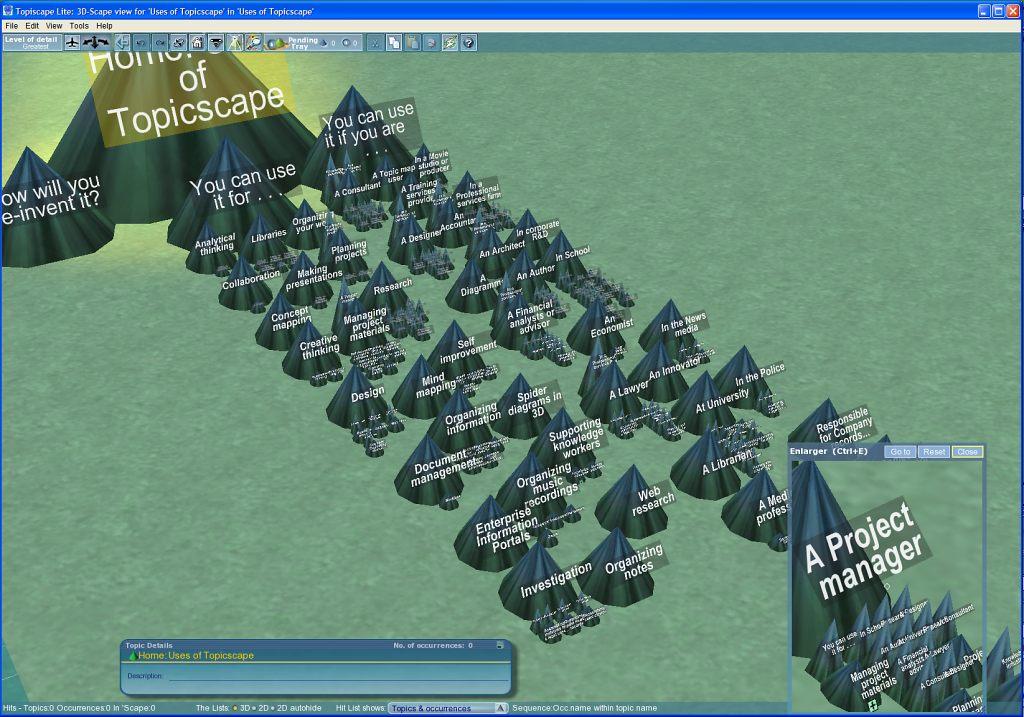 3D Topicscape Lite