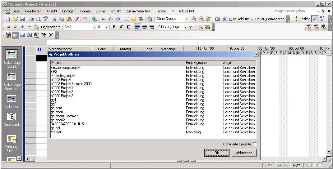 Afinion Smart Project Server