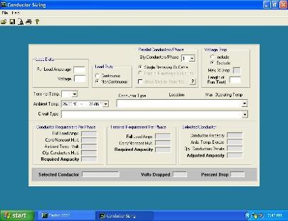 Electrc 2005 NEC Calculator Trial Versio
