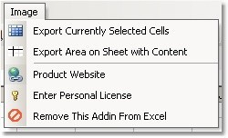 Excel Export To Image (GIF) Software