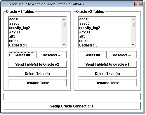 Oracle Move to Another Oracle Database Software