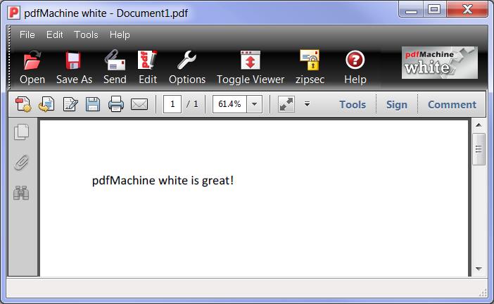 pdfMachine White