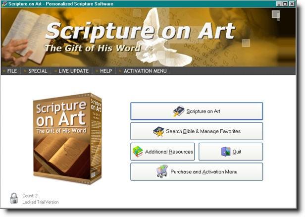 Scripture on Art