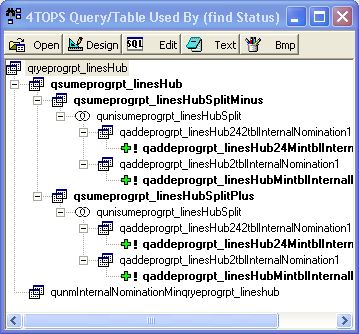 4TOPS Query Tree Editor for MS Access