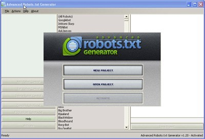 Advanced Robots.txt Generator