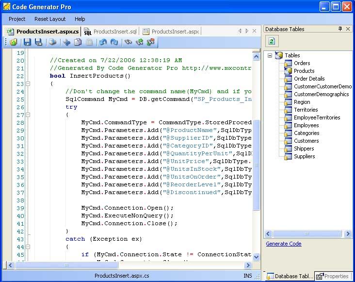 Code Generator Pro
