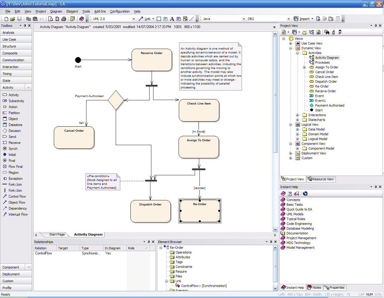 Enterprise Architect for UML 2.1