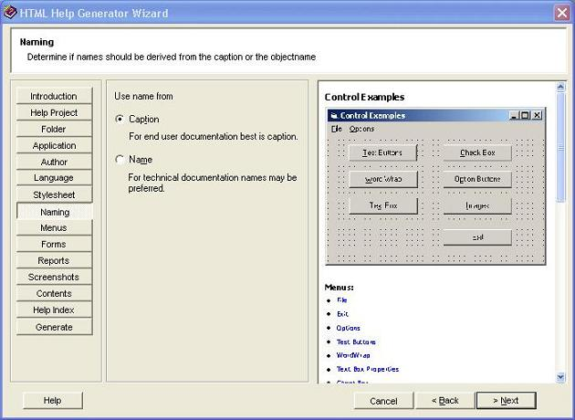 Help Generator for Visual Studio 2003