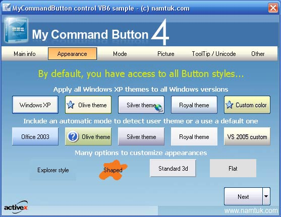 My Command Button ActiveX