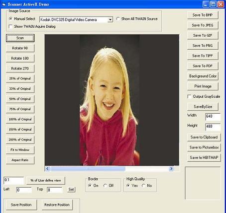 Scanner to TIF PDF JPG ActiveX OCX SDK