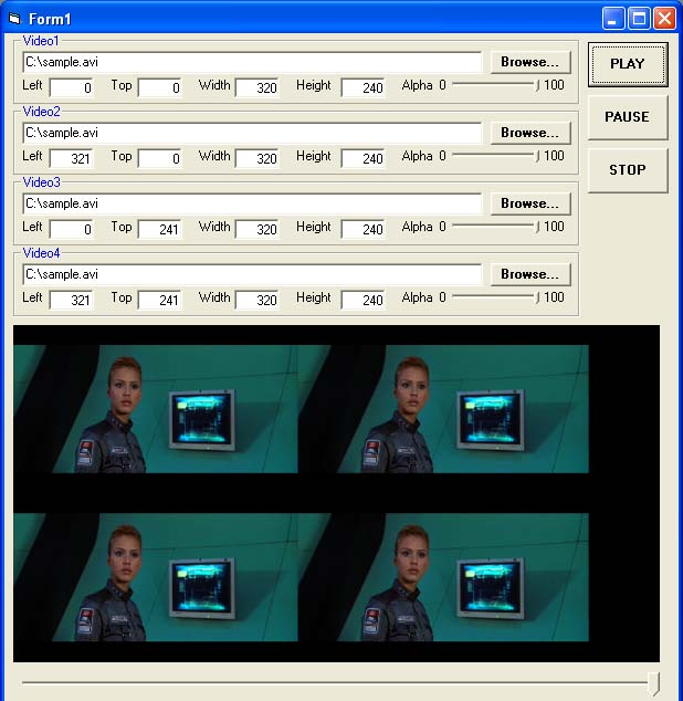 X360 Multiple Video Player ActiveX OCX