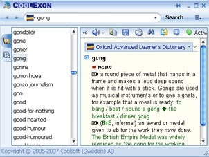 Coolexon Dictionary