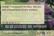 Actual Transparent Window