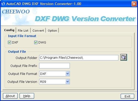 AutoCAD DWG/DXF Version Converter
