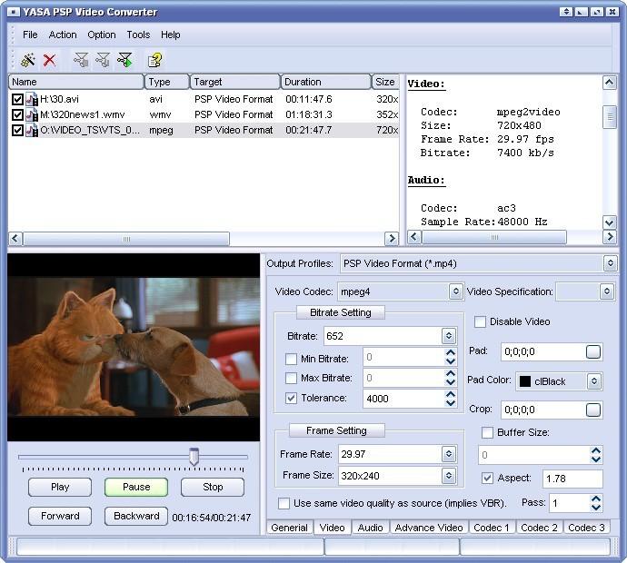 Convert 2 PSP Video