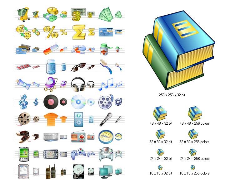 i-Commerce Icon Set
