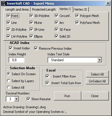 InnerSoft CAD for AutoCAD 2005