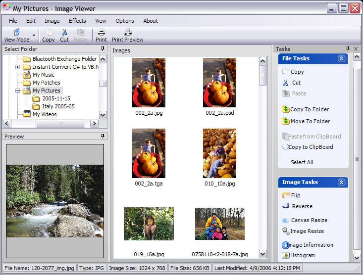 Linos Image Viewer