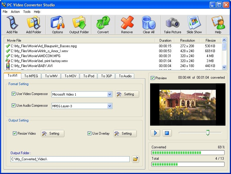 PC Video Converter Studio