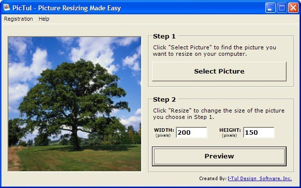 PicTul - Picture Resizing Made Easy